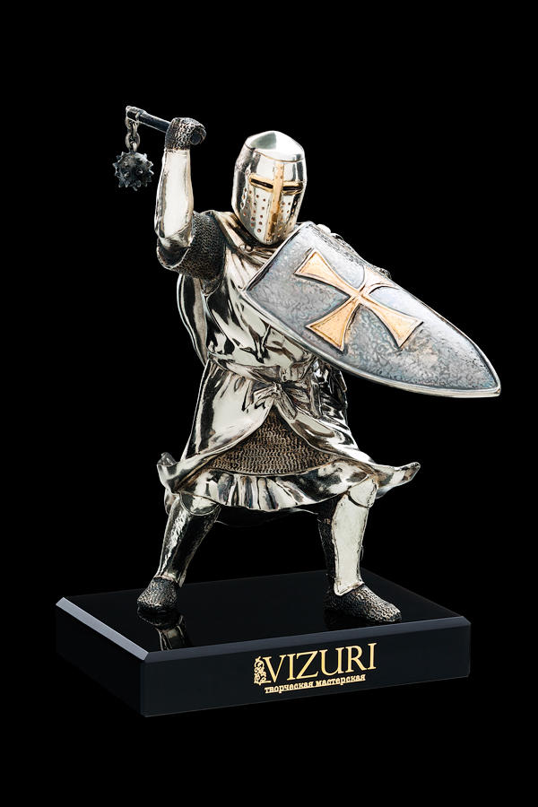 Бронзовая статуэтка из серии Войны - ТЕВТОНСКИЙ РЫЦАРЬ&qu