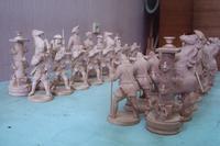 Изготовим шахматные фигуры из дерева на заказ.