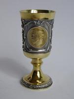 Изделия из серебра с позолотой